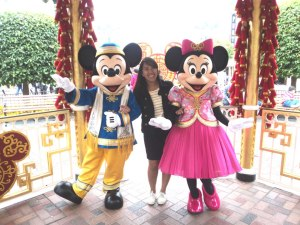 Mickey & Minnie Mouse taken last February 2013 at HK Disneyland