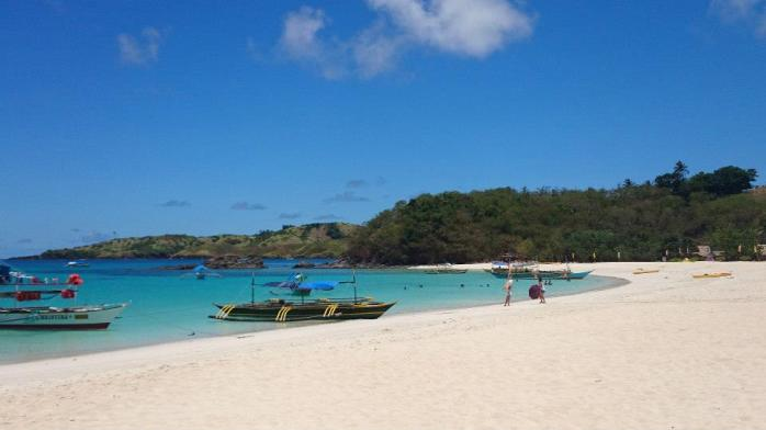 Beautiful piece of paradise at Calaguas Island, Camarines Norte