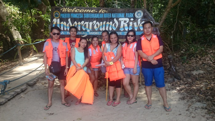 My favorite travel buddies at Puerto Princesa Underground River