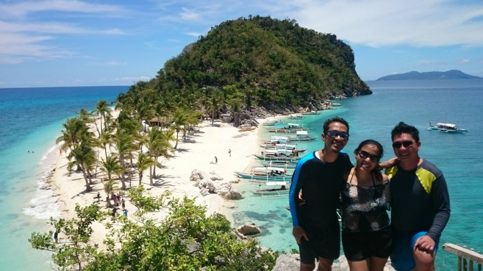 Breathtaking view at Cabugao Island, Carles, Iloilo